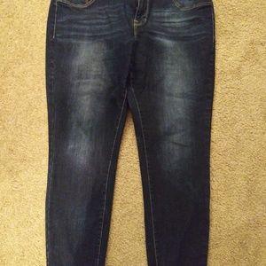 Maurices denim skinny jeans. Size 20w